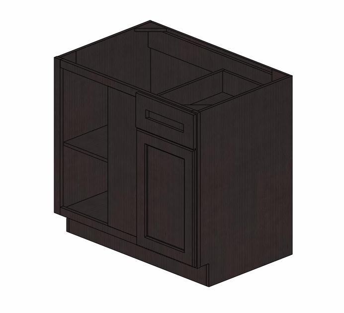 Bblc39 42 36 w pepper shaker blind base corner cabinet for 36 corner cabinet