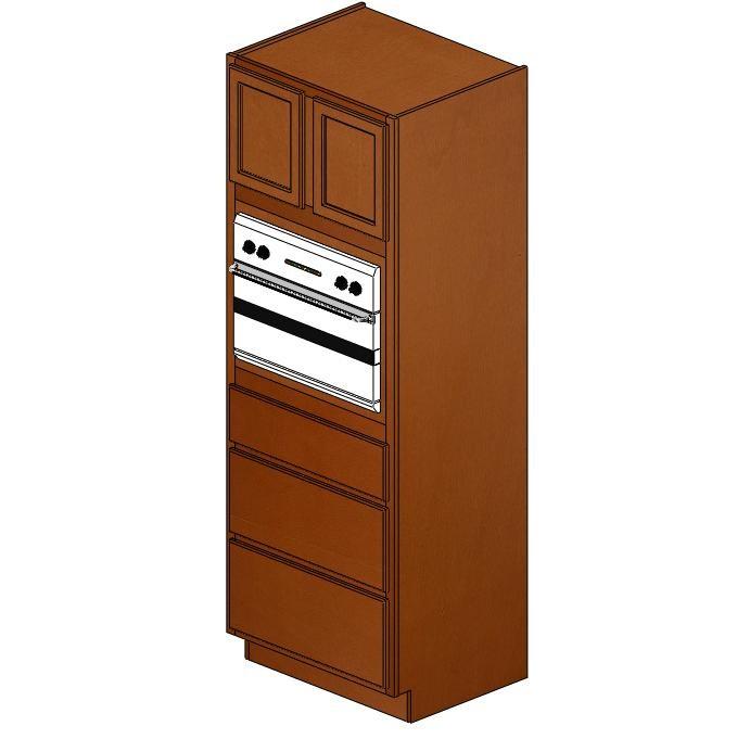 OC3396BGS Verona Maple Single Oven Cabinet