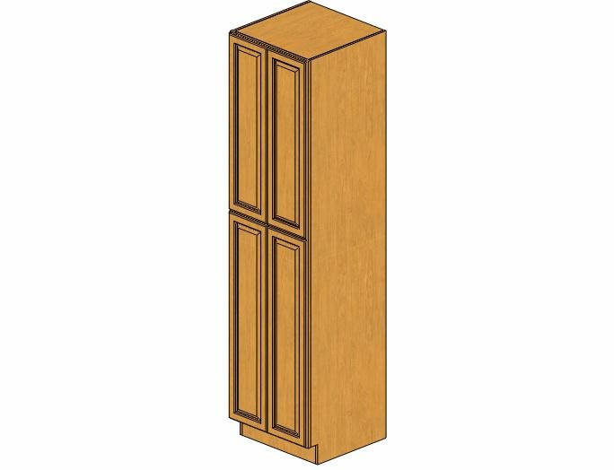 WP2496B Country Oak Wall Pantry Cabinet