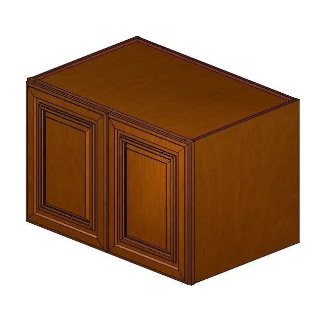 W361824 haventon maple wall cabinet wall cabinets for Kitchen cabinets 50 off