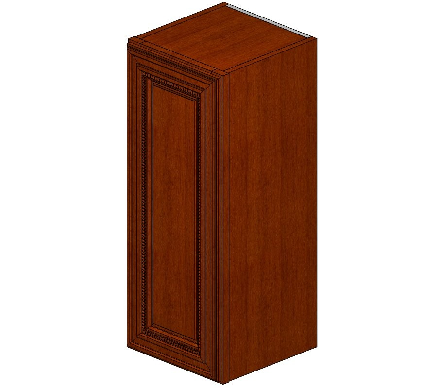 W1230 Sienna Rope Wall Cabinet