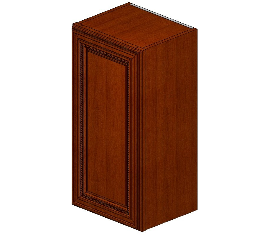 W1530 Sienna Rope Wall Cabinet