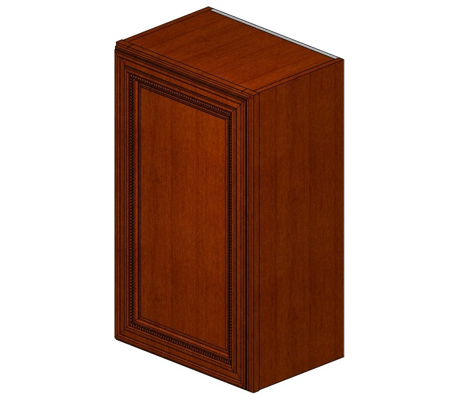 W1830 Sienna Rope Wall Cabinet