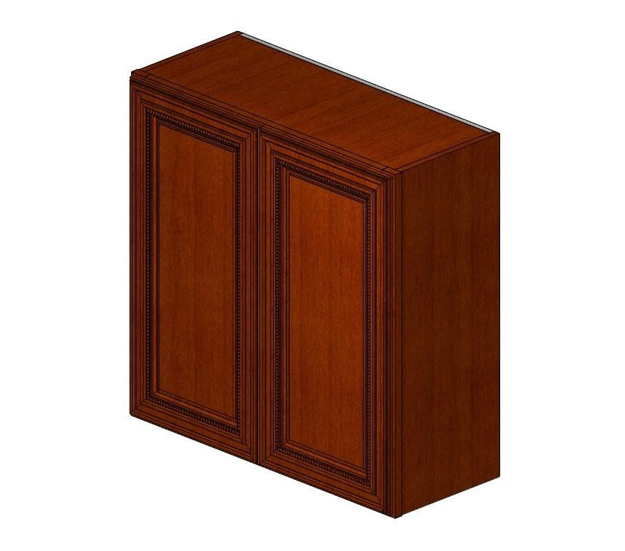 W3030B Sienna Rope Wall Cabinet