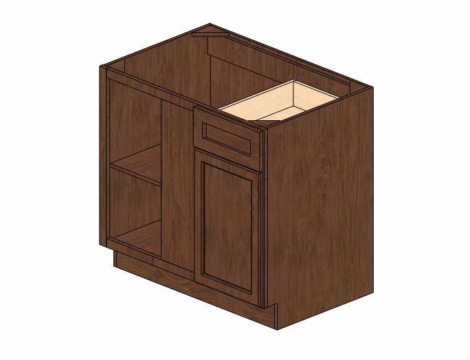Bblc39 42 36 w wave hill blind base corner cabinet base for 36 corner cabinet