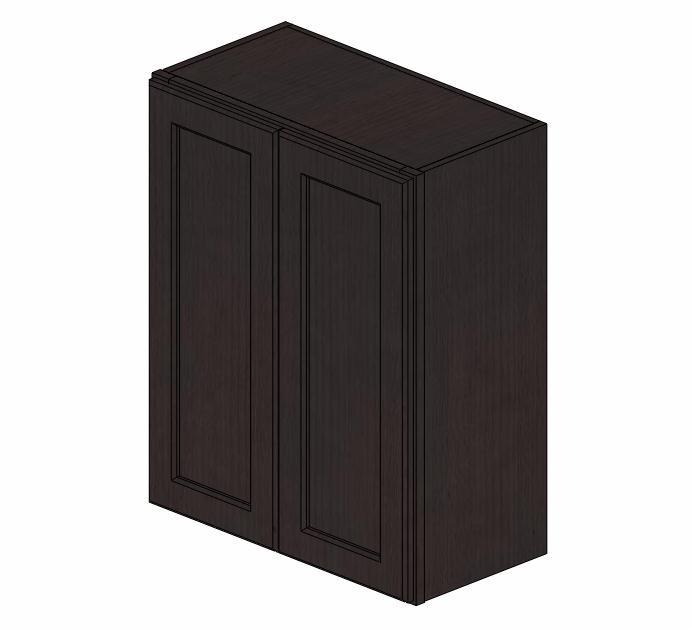 W2430B Greystone Shaker Wall Cabinet