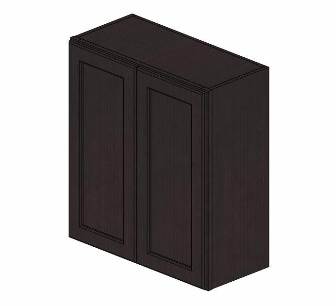 W2730B Greystone Shaker Wall Cabinet