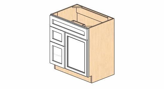sw-v3021dl dimension cabinets | snowhaven bathroom vanity cabinet