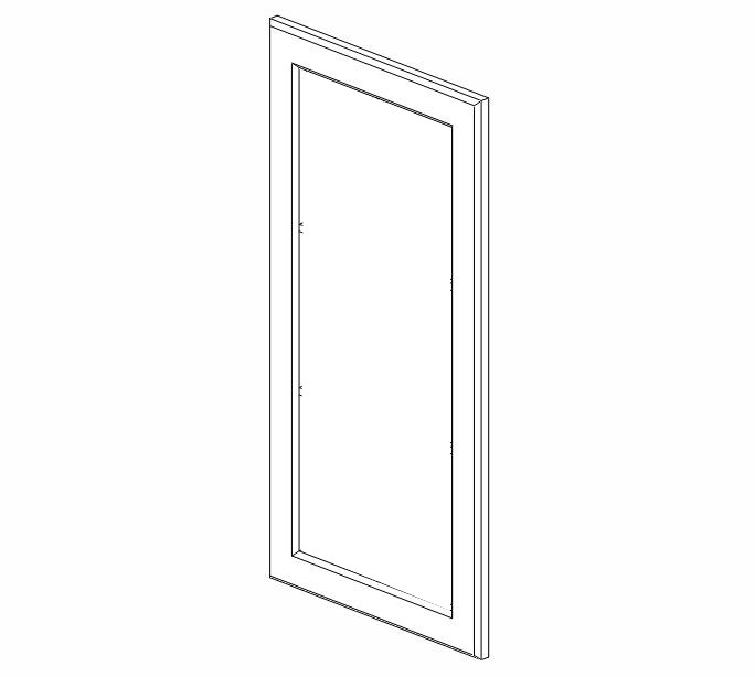 sw w1542gd dimension cabinets snowhaven glass door frame