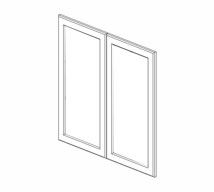 sw w3630gd dimension cabinets snowhaven glass door frame