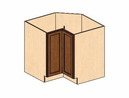 TB LS3612 Dimension Cabinets | Timberline Lazy Susan Base Cabinet