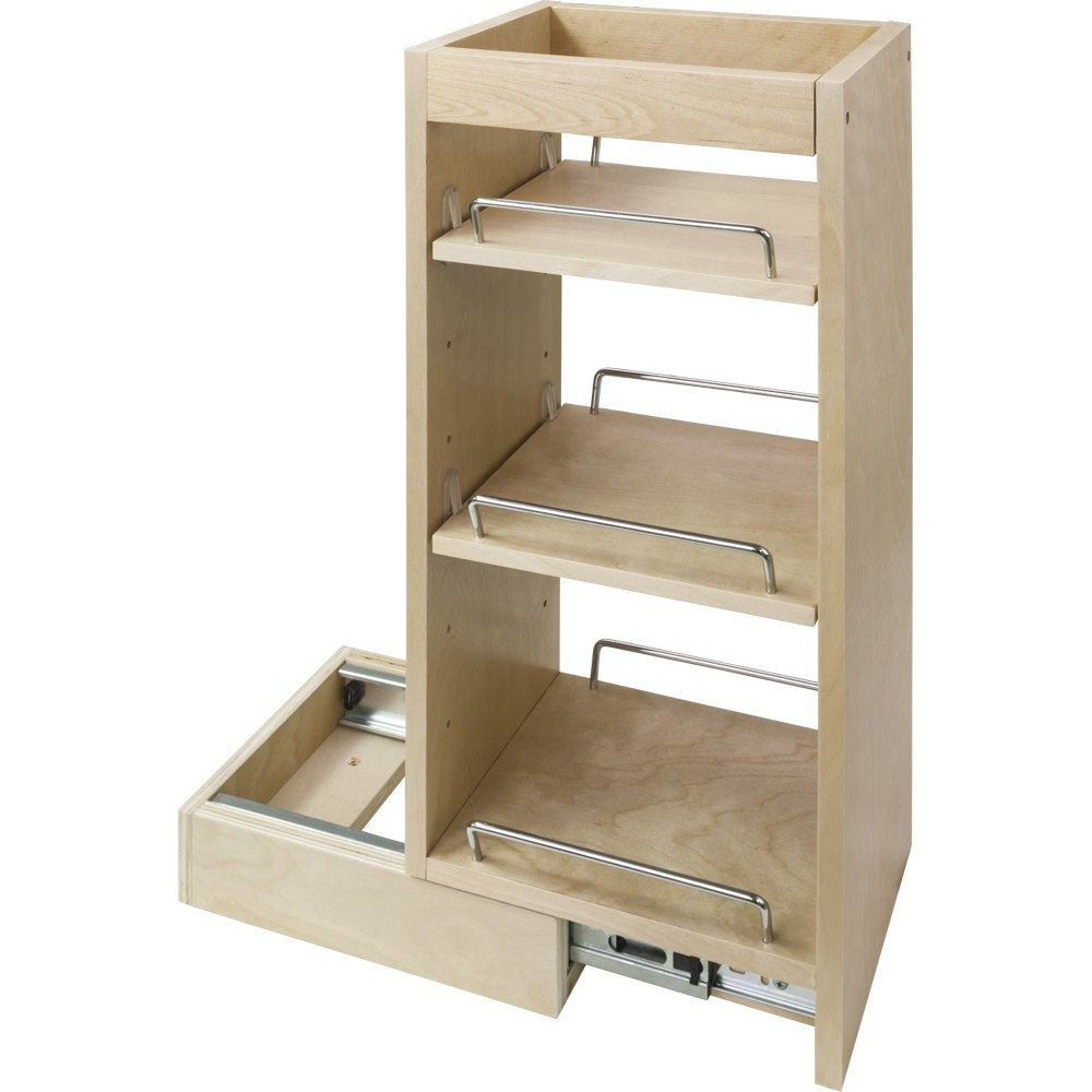 Wall Cabinet Pull Out Spice Rack - fits 12\