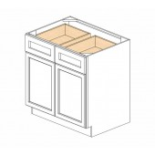 B33B Ice White Shaker Base Cabinet
