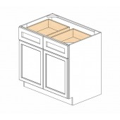 B36B Ice White Shaker Base Cabinet