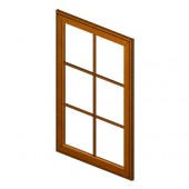 W1530GD Haventon Maple Glass Door Frame
