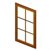 W1536GD Haventon Maple Glass Door Frame