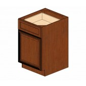 B21 Cherry Glaze Base Cabinet #