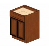 B24B Cherry Glaze Base Cabinet #
