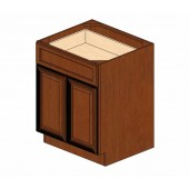 B27B Cherry Glaze Base Cabinet #
