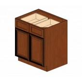 B30B Cherry Glaze Base Cabinet #