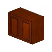 W2418B# Sienna Rope Wall Cabinet