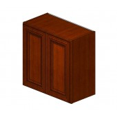 W2424B Sienna Rope Wall Cabinet