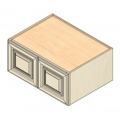 W361524 Vintage White Wall Cabinet