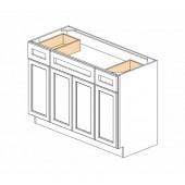 """S4821BDR-34-1/2"""" Gramercy White Vanity Sink Base #"""