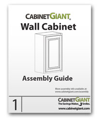 Wall Cabinet Assembly Instructions