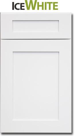 Arctic White Door Front
