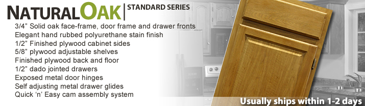 Natural Oak - Standard Series